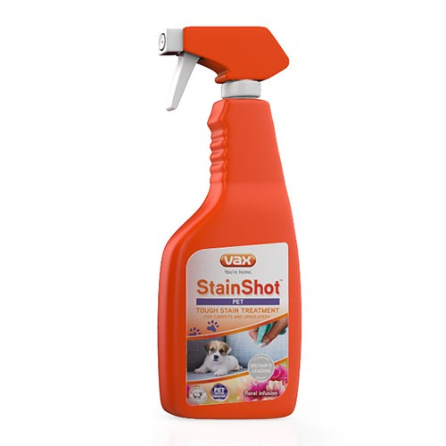 Vax StainShotTM Pet 500ml Cleaner